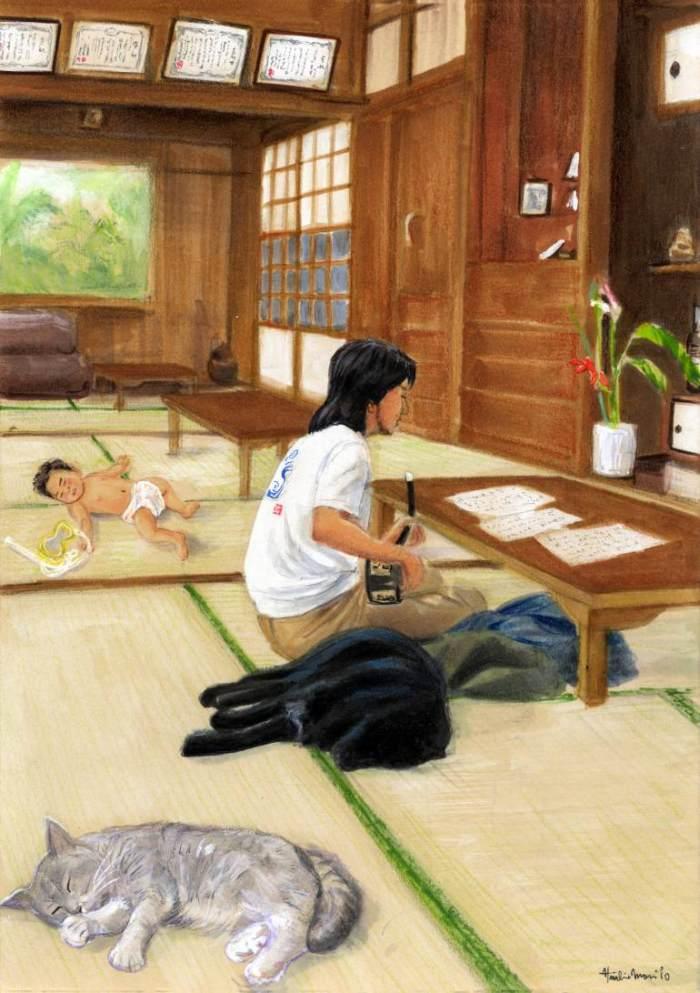 Повседневная жизнь. Hiroshi Mori