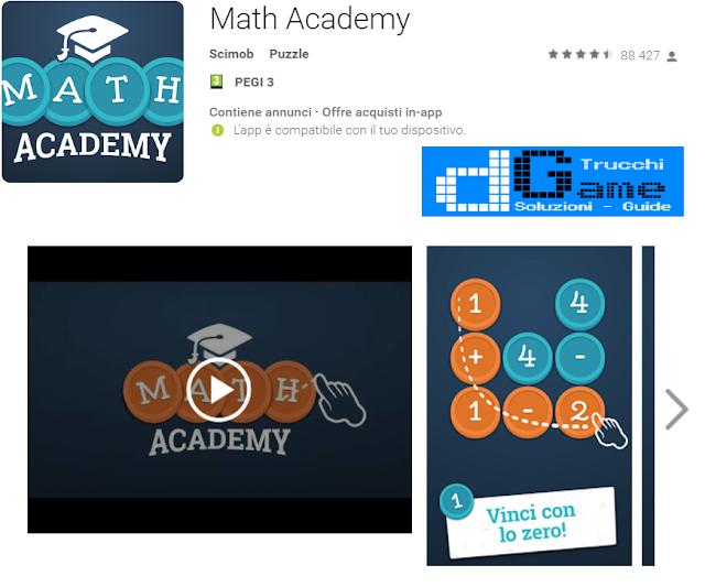 Soluzioni Math Academy di tutti i livelli | Walkthrough guide