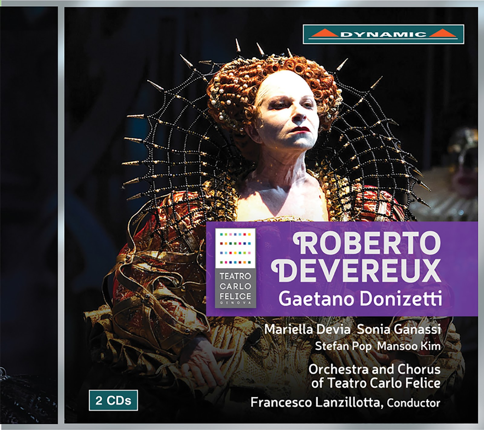 IN REVIEW: Gaetano Donizetti - ROBERTO DEVEREUX (Dynamic CDS7755.02)