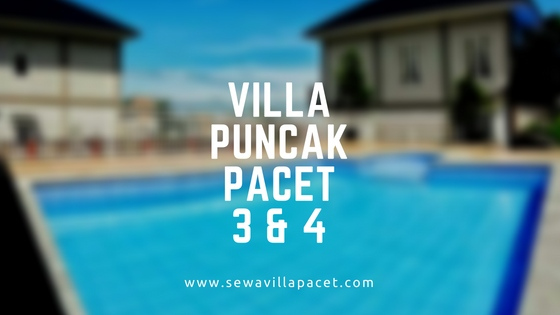 Sewa Villa Pacet Murah - Villa Puncak Pacet
