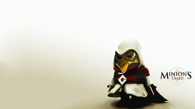 Cute minion Assassin Creed HD Wallpapers