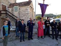 Veliki petak procesija Ložišća - Bobovišća - Bobovišća na moru slike otok Brač Online