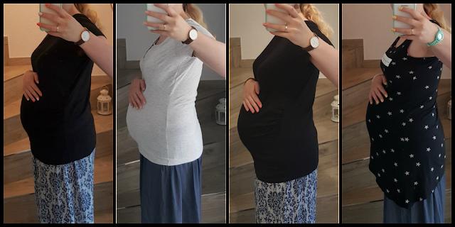 Babybauch 9. Monat