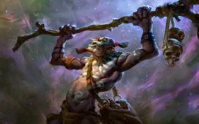 Team Troll-Warlock cho khả năng sát thương với hút máu rất chi là đáng sợ ở giai đoạn sau của ải đấu