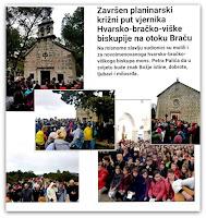 Biskupijski Križni put 2018 Gornji Humac Pražnica Pučišća otok Brač Online slike