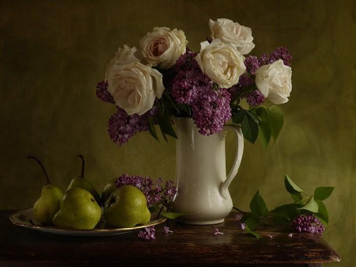 Stephen Gjertson. Цветочные натюрморты 5