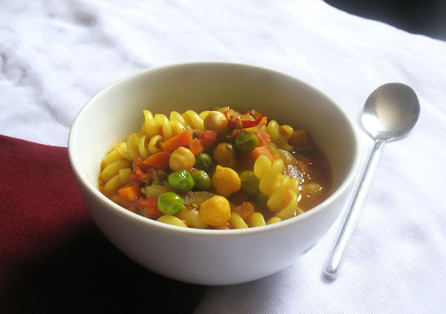 summery vegetable soup