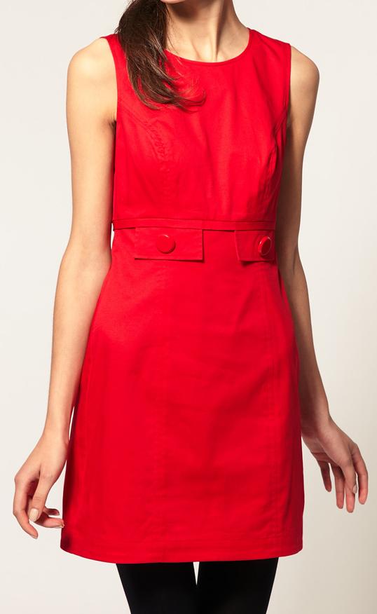 le vide dressing de jade la petite robe 60 39 s rouge asos uk 6 34 coll actu. Black Bedroom Furniture Sets. Home Design Ideas