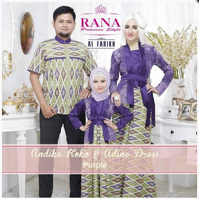 Model Baju Muslim Sarimbit Family Modern Terbaru