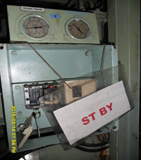 Pressure switch discharge & suction