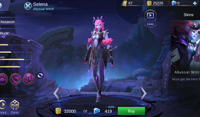 Build Selena Mobile Legends