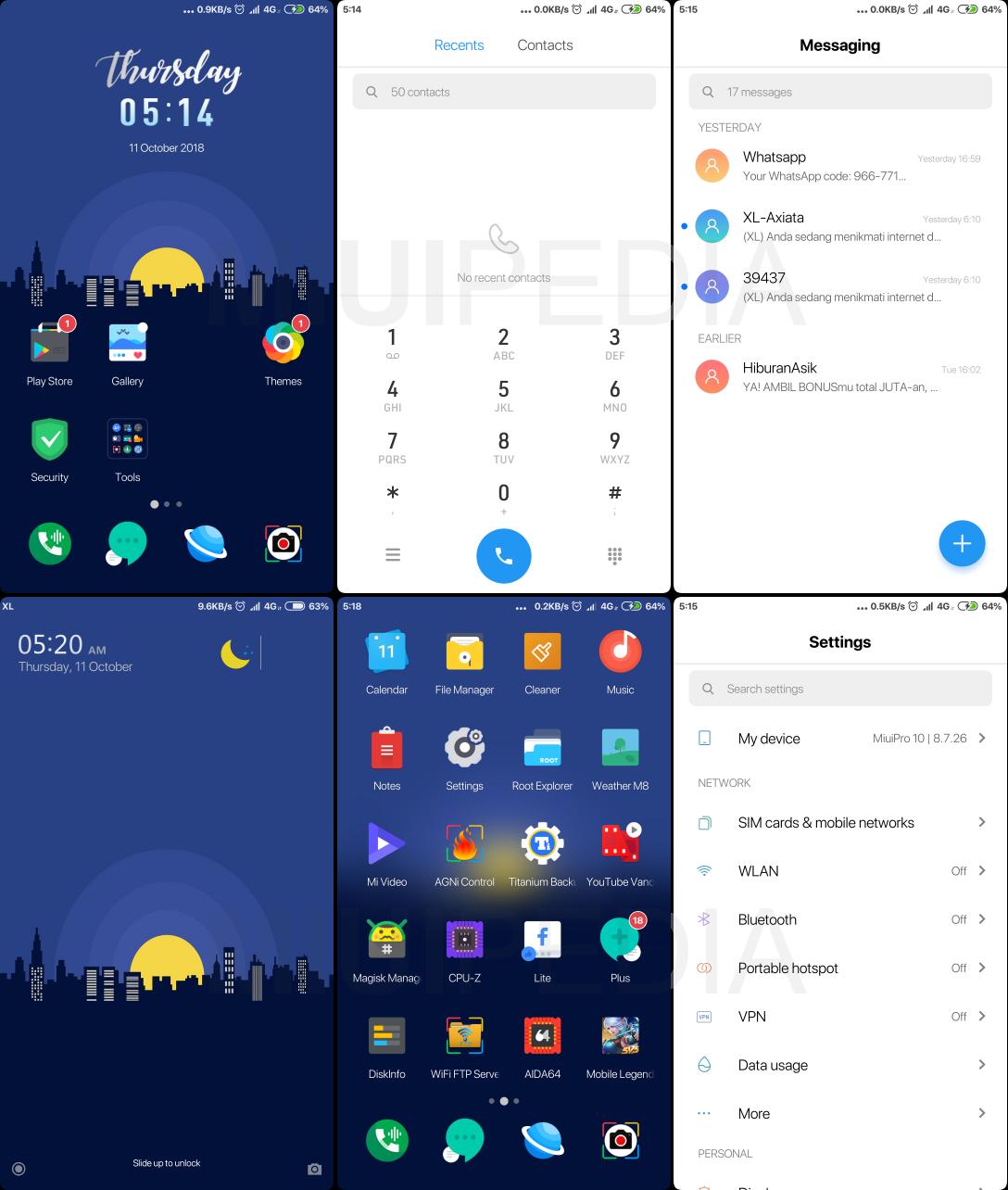 Download Tema Parallel Light With Blur Wallpaper + Cara Mengatasi tidak dapat memuat sumber tema ( Link Theme Store )