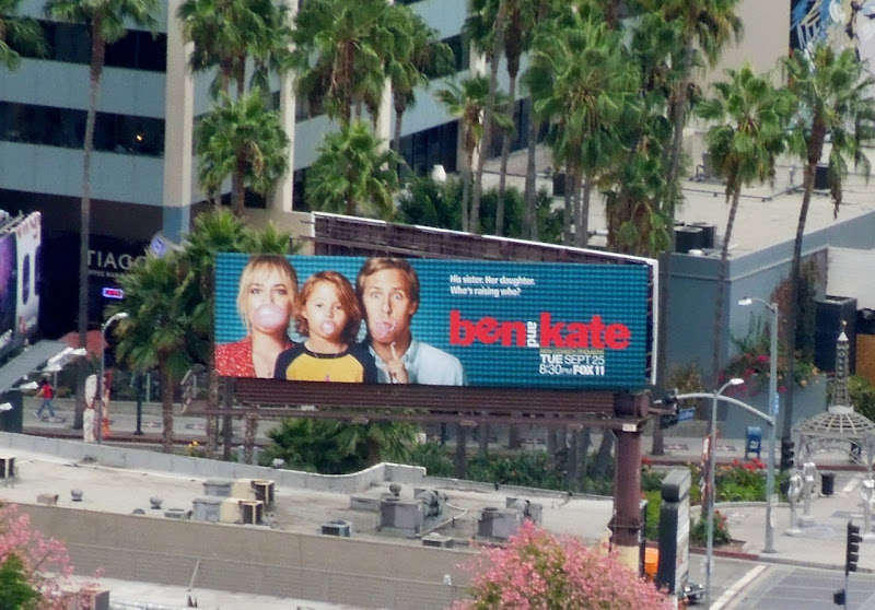 Ben and Kate sitcom billboard