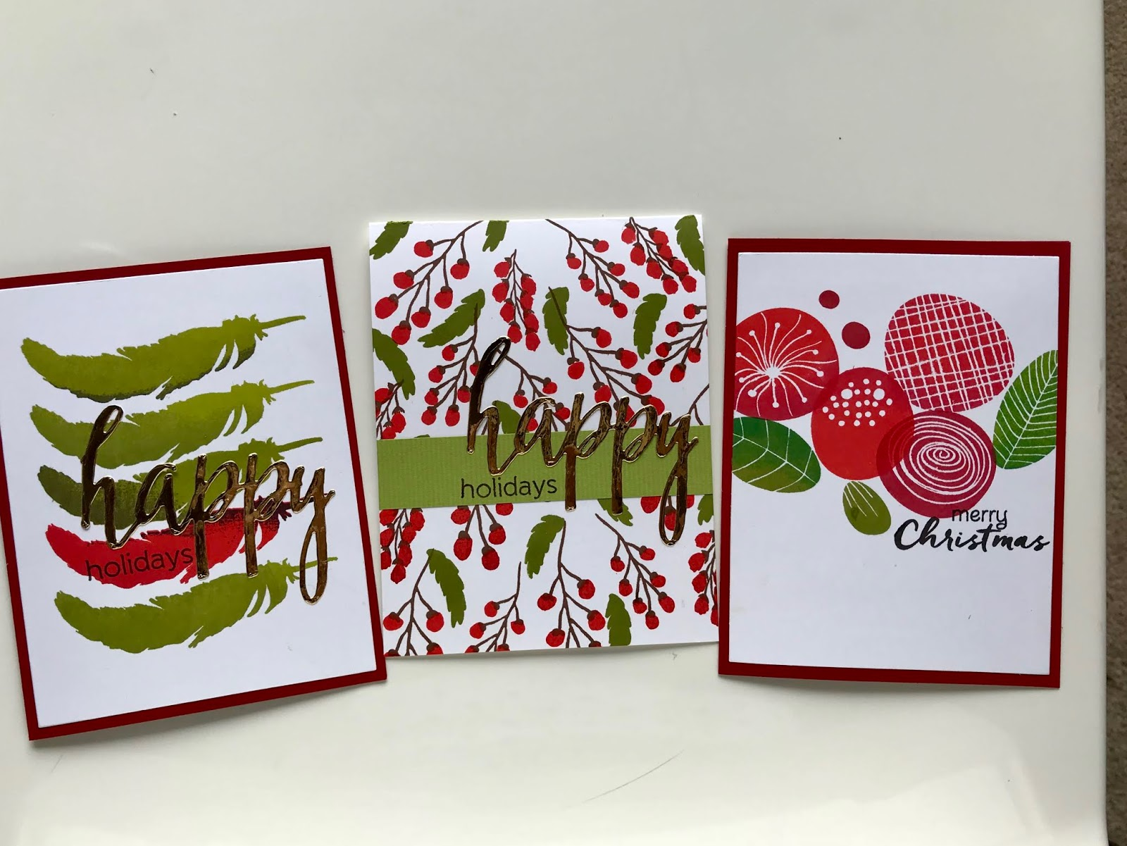 HelenCards - Mes cartes à moi: Christmas cards without Christmas ...