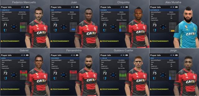 PES 2017 CR Flamengo Facepack