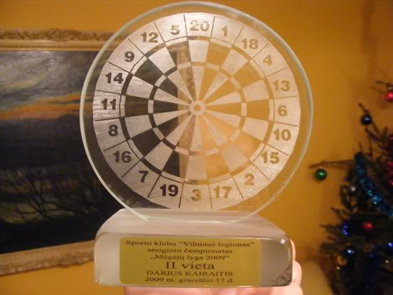 Darts apdovanojimas