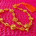 SOLD Rantai Tangan Stamping Love 5.81g u143 18cm 0.7cm