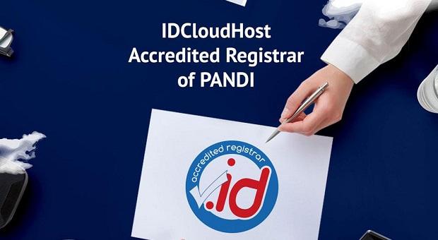 IDCloudHost Resmi Menjadi Accredited Registrar PANDI