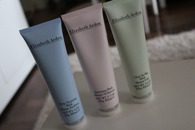 Elizabeth Arden maske: Deep Cleansing, Hydrating i Clear the Way