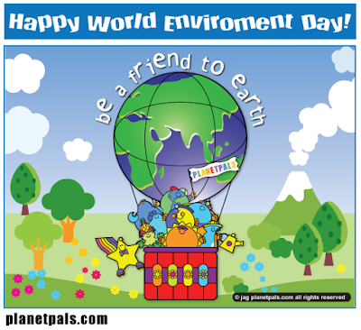 World Environment Day occurs on World Environment Day, Earthday, Everyday to help the planet!