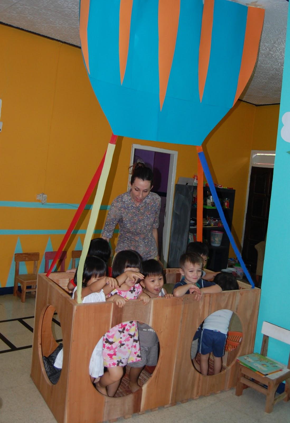 Illumination Preschool H Is For Hot Air Balloons