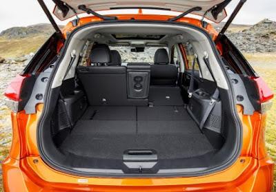 Coffre Nissan X-Trail sans sièges arrières