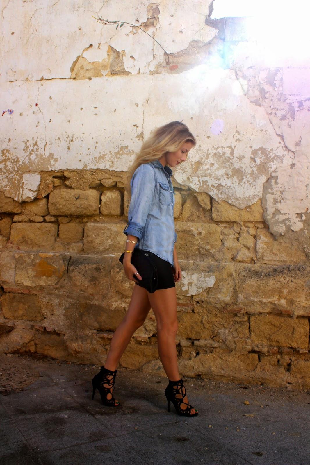 Chambray + Leather | Jerez, Spain