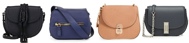 "Three of these saddle handbags are from designers for $1,000+ and one is from Cesca for $36. Can you guess which one is the ""impostor""? Click the links below to see if you are correct!"