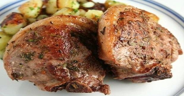 Herb Roasted Lamb Chops Recipe
