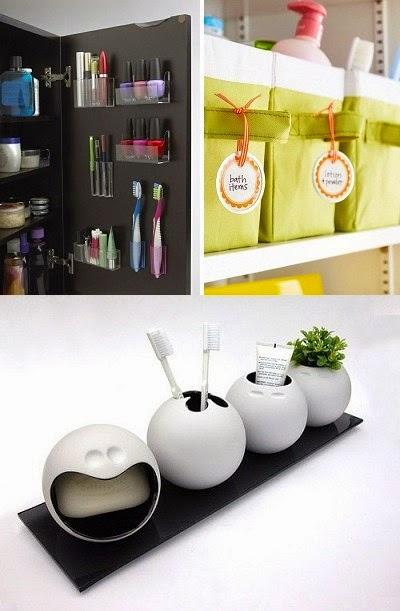 Tempat Peralatan Kamar Mandi Minimalis  Desain Interior