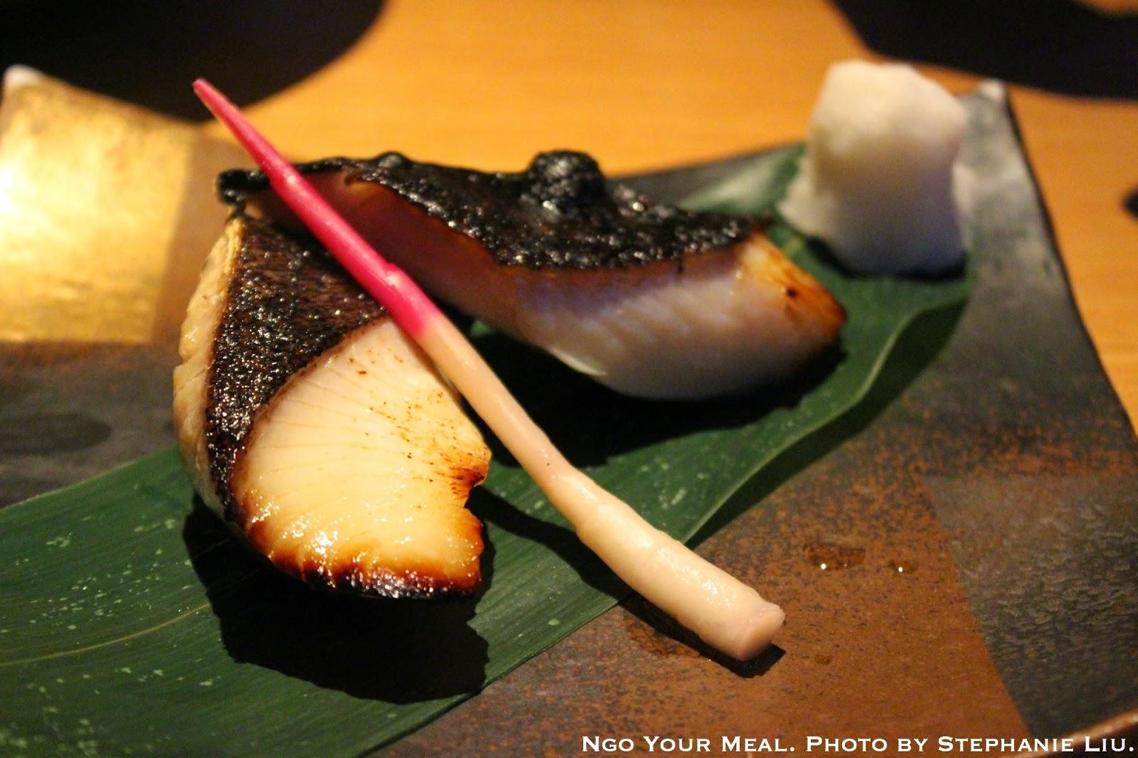 Saikyo Miso Black Cod: From Alaska marinated in saikyo miso, broiled at EN Japanese Brasserie