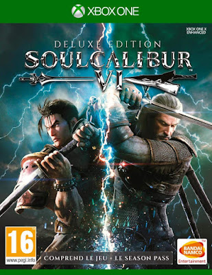 Soulcalibur 6 Game Cover Xbox One Deluxe Edition