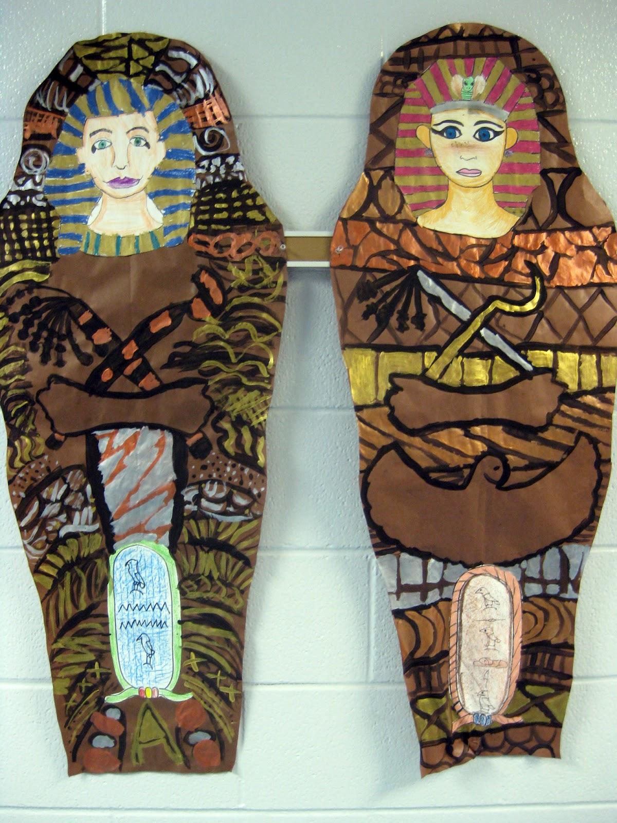 Cassie Stephens In The Art Room Walk Like An Egyptian