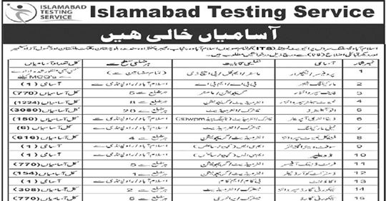 7852+Vacancies Islamabad Testing Service Jobs 2019,Islamabad Testing Service ITS Jobs 2019 Job Advertisement,Jobs In Islamabad Testing Service (ITS) 22 Sep 2019,Islamabad Testing Service jobs 2019 in Pakistan - ITS Jobs,Islamabad Testing Service Jobs 2019 ITS Invigilators,Islamabad Testing Service (ITS) Jobs 2019 Latest,Islamabad Testing Service PVt Ltd (ITS) Jobs 2019 for 7852+,ISLAMABAD TESTING SERVICES ,its jobs,its,Islamabad Testing Service ITS Jobs 2019,Islamabad Testing Service Jobs September 2019 - Daily Jobs,islamabad testing service jobs 2019,islamabad police jobs 2019,islamabad testing service,islamabad testing service jobs,islambad police jobs 2019 test,police jobs 2019 - islamabad police jobs 2019,jobs islamabad testing services,islamabad police jobs,male females islamabad police jobs 2019,how to apply islamabad testing service jobs,ideal testing service jobs april 2019,islamabad testing service,islamabad testing service jobs,islamabad testing service jobs 2019,islamabad police jobs 2019,islamabad police jobs,jobs islamabad testing services,islamabad capital territory police jobs,pakistan jobs,islambad police jobs 2019 test,how to apply islamabad testing service jobs,ideal testing service,invigilator jobs in islamabd testing service,jobs,its jobs,its,its jobs 2019,pakistan jobs,steve jobs,jobs in pakistan,new jobs,part time jobs,its jobs pakistan 2019,latest jobs in pakistan,jobs report,islamabad testing service jobs,its jobs 2019 for 5990+ invigilators,8th pass jobs,10th pass jobs,12th pass jobs,shakir jobs,b.tech jobs,invigilator jobs,diploma jobs,pia jobs 2019,pakistan jobs bank,pakistan jobs 2019,b.e jobs,govt jobs 2019,7852+Vacancies Islamabad Testing Service Jobs 2019 Latest Advertisement ITS Jobs 2019