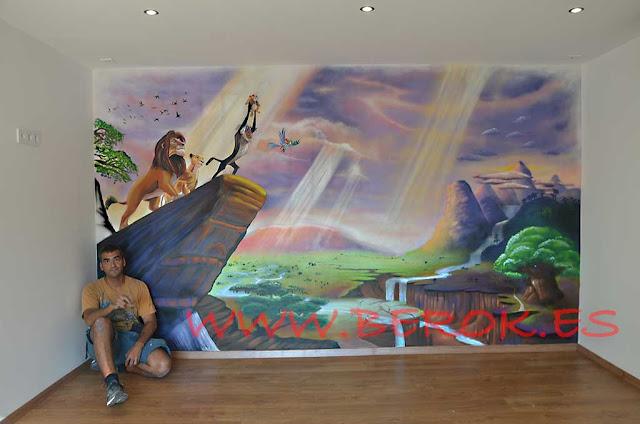 Murales infantiles Berok