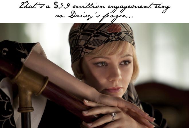 Great Gatsby Engagement Ring Tiffany