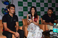 Bollywood Actress Adah Sharma Pos in White Printed Short Dress at OPPO F3 Plus Selfie Expert Mobile Launch .COM 0083.jpg