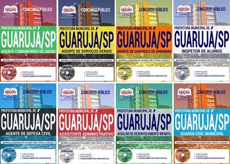 Apostila Prefeitura de Guarujá 2018