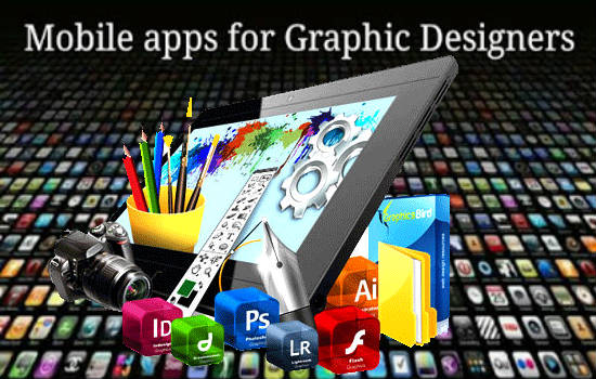 List of mobile apps for Graphics Designers-designing-550x350