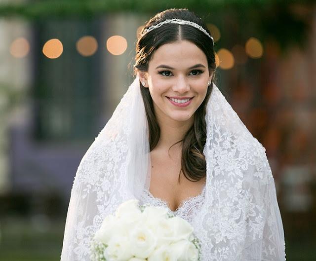 Vestido de noiva Mari, Marirezete (Bruna Marquezine) I love paraisopolis, novela. Leticia Bronstein