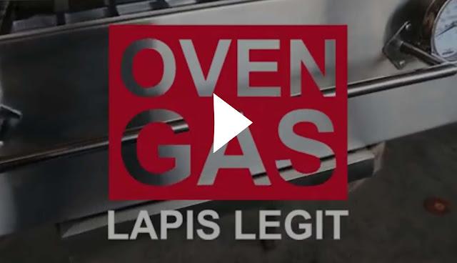 Oven Gas Khusus Lapis Legit 2017