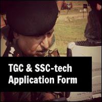 tgc ssc tech application form print out