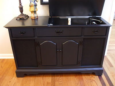 Old Wood New Paint 1963 True Tone Console Stereo