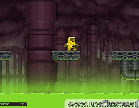Jogos de plataforma, ação: Toxic 2.