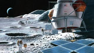 ناسا تحاول ابقاء البشر على القمر.