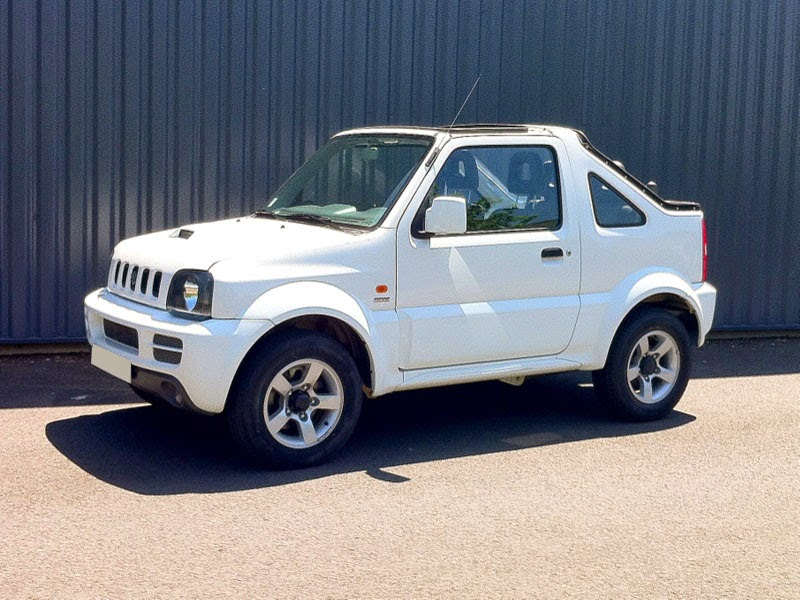 modifikasi mobil suzuki jimny cabrio