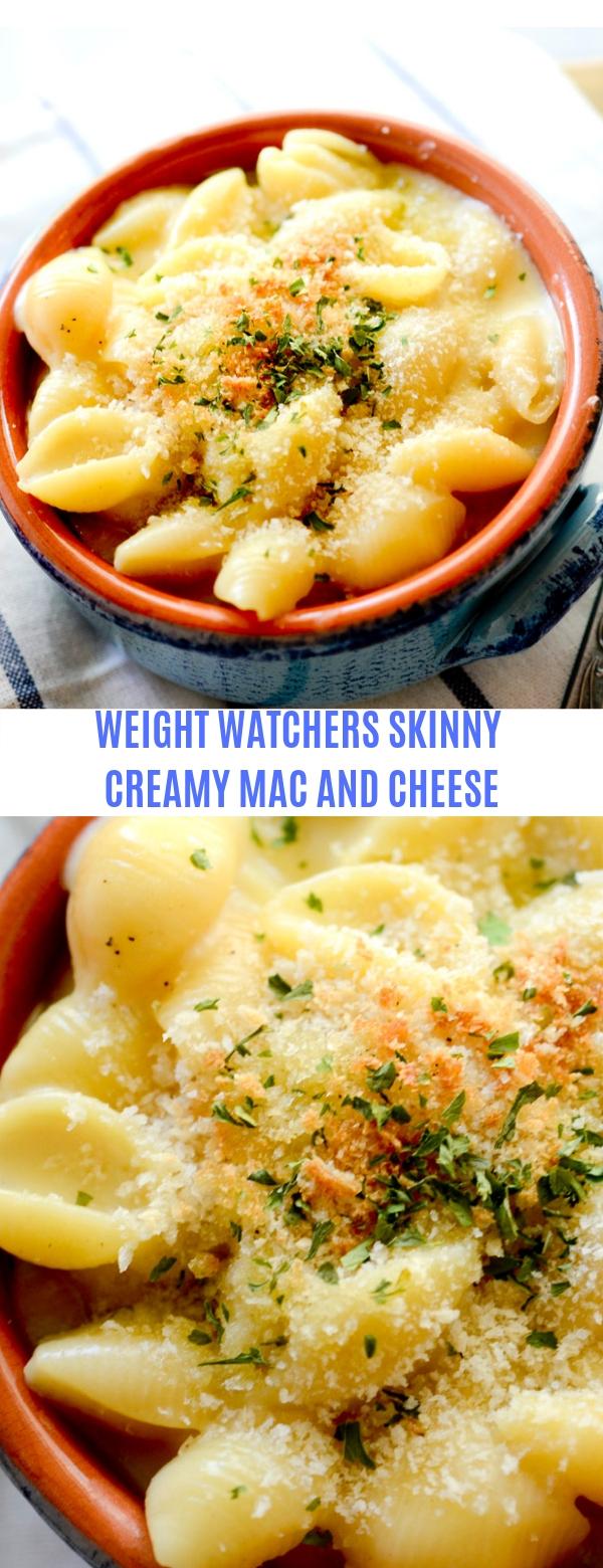 WEIGHT WATCHERS SKINNY CREAMY MAC AND CHEESE