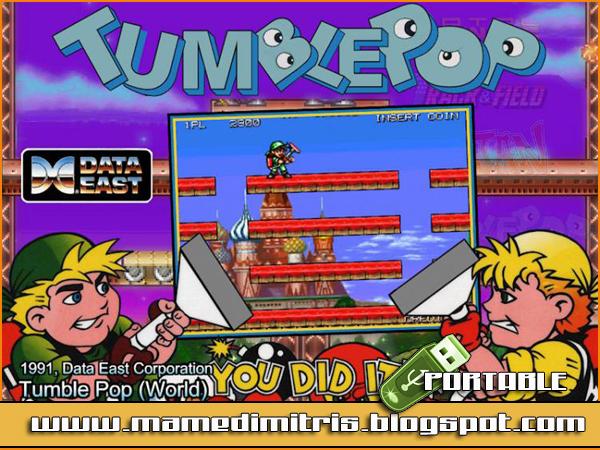 tumblepop arcade
