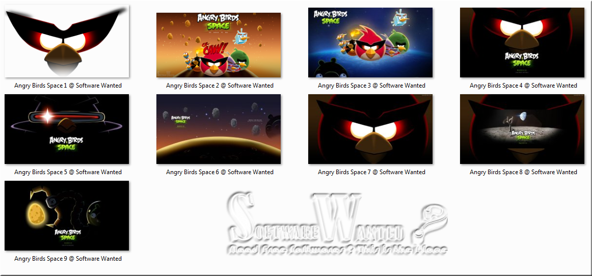 Download Free Windows 7 Angry Birds Theme