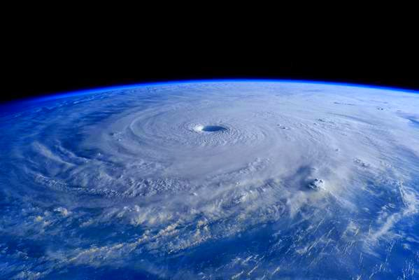 Image of Typhoon Chedeng from space